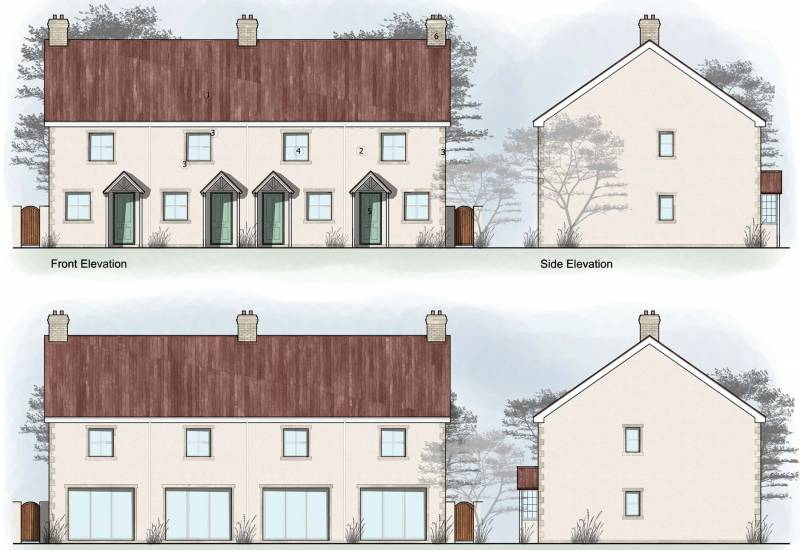 Wincanton - Row of 4 Terraced Houses - FOR SALE