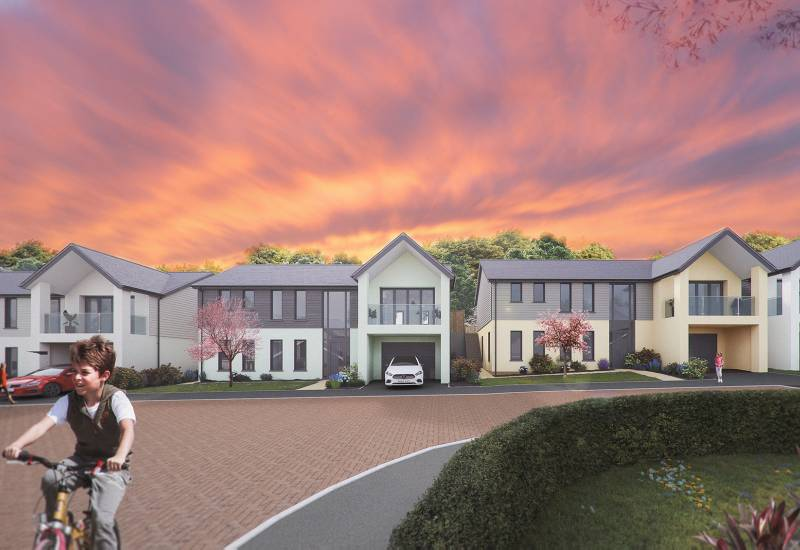 Kingwell Mews, Wincanton - House with lift - SOLD - Plot 5