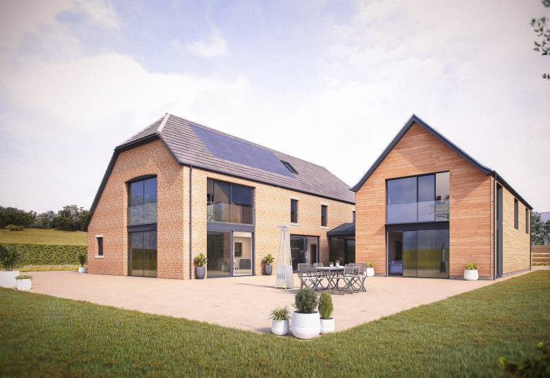Manor Farm House, Blackford, Somerset - SOLD STC