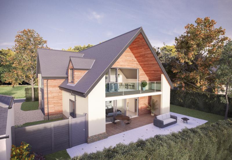 3 UNIQUE HOUSES with STUNNING VIEWS. Devenish lane - Bayford - Wincanton